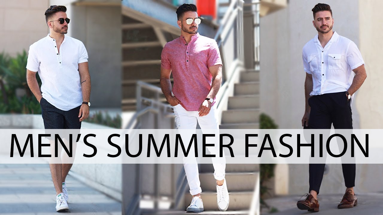3 EASY SUMMER OUTFITS FOR MEN 2017 u2013 Deplx